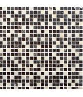 30X30 Mosaico Beige Chocolate Mini Ker18