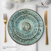 Adquiere en Kerámikos la nueva colección de vajillas Organics by Artesa. Piezas llenas de color, diseño, texturas y lo más importante son hechas a mano.