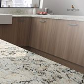 Presiona la imagen dos veces si amarías tener tu Granito White Ice para tu cocina.  #Keramikos #granito #diseñohogar #espacioselegantes #casamoderna #estiloydecoracion #diseño #diseñointerior