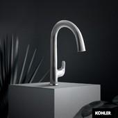 La grifería Sensate con activación por sensor de movimiento es lo único que necesitas para revolucionar tu cocina.  #KohlerLatam  #DiseñoDCocinas  #DiseñoDeInteriores  #SmartHome