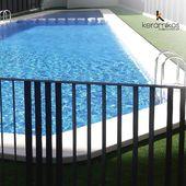 Para disfrutar de tus vacaciones. Crea el espacio perfecto con Mosaico Azul Claro. Sus tonalidades te brindan uniformidad a tu espacio ideal.  #Keramikos #piscinas #piscina #mosaicopiscina #diseñohogar #espacioselegantes #casamoderna #estiloydecoracion #diseño #diseñointerior